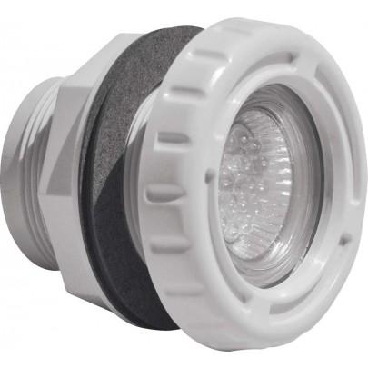 Mini Proiettore Led Bianco senza Nicchia,per Piscine in Panelli e Vetroresina .