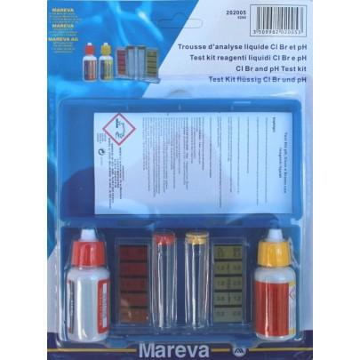 Test Kit Cloro/pH liquido
