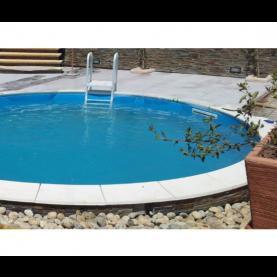 Bordo piscina classico con raggio