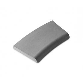 Bordo in pietra serie Roma col. grigio mix