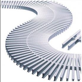 Modulo griglia per curve spessore 35 mm