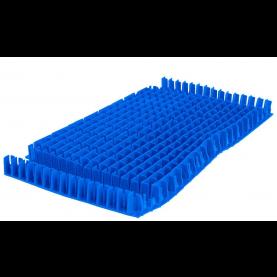 Spazzola PVC combinata Blu lunga per robot Dolphin.