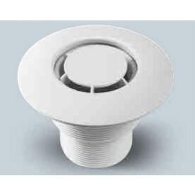 Bocchetta in ABS a Pavimento con Diffusore Radiale per Rivestimento in PVC.