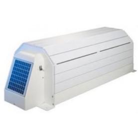 Modello esterno con calotta di protezione in PVC color bianco: Narbonne solare