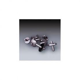 Chiodi ad espansione in alluminio.