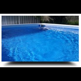 Piscina MARETTO Comfort h 125 - 2,5x5m - Colore Azzurro + KIT Piscina.