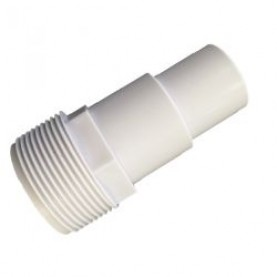 Portagomma per tubo flessibile da 32-38 mm, con filettatura esterna da 1 1/2″.