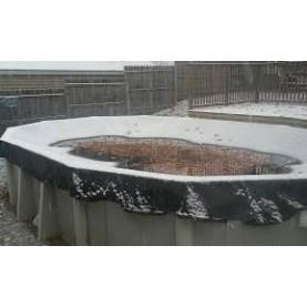 Copertura invernale per piscine in legno rettangolari