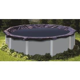 Copertura invernale per piscine in legno Ø 5 m.