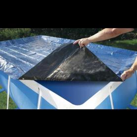 Telo di copertura con occhielli 3,10x5,10 per piscina Maretto.