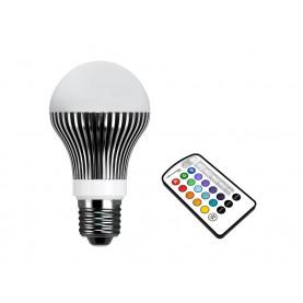 Lampada RGB con telecomando