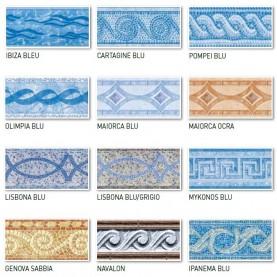 Bande decorative per Liner UNI.