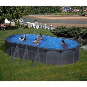 Piscine fuori terra Ovale & Rotonde Serie Granada H 132 cm.