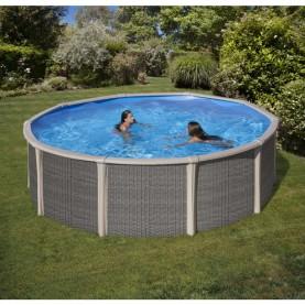 Piscina fuori terra Rotonda Fusion Pool Ø 460 cm H 135 cm.