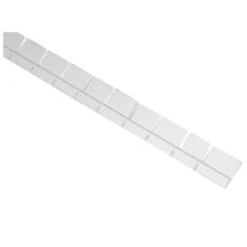 Profilo pretagliato in alluminio -  specifico per aggancio liner e rivestimento in PVC.
