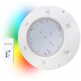 Proiettore piatto Seamaid PAR 56 - 90 LED RGB 16,0W-12 V con Telecomando.