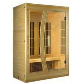 Sauna Red 2 Glass - Sauna a Infrarossi.