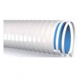 Tubo spiralato in PVC flessibile resistente al cloro ed all'abrasione.