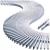 Griglie per bordo sfioratore - Modulo griglia trasversale per curve spessore 22 mm .